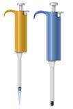 Automatyczna pipeta ilustracja wektor
