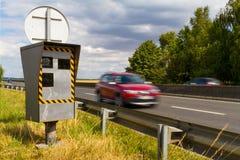 Automatyczna prędkości kamera Zdjęcie Stock