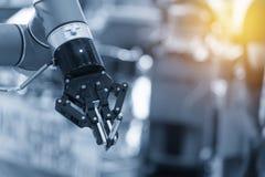 Automatyczna robot ręka obrazy royalty free