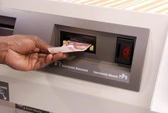 automatyczna zapłata Zdjęcie Stock
