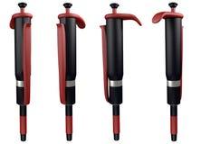 Automatyczne pipety royalty ilustracja