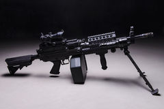 automatycznego pistoletu maszyna Obraz Stock