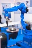 Automatycznego spawu CNC maszyna Obrazy Royalty Free