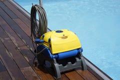 Automatyczni basen?w czy?ciciele zdjęcia royalty free