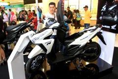 Automatyczny motocykl Obraz Royalty Free