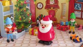 Automatyczny Santa zbiory wideo