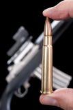 Automatyczny strzelać z broni maszynowej Fotografia Royalty Free