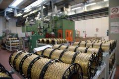 Automatyzująca fabryczna roślina dla elektrycznego składnika Fotografia Stock