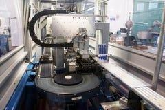Automatyzująca fabryczna roślina dla elektrycznego składnika Zdjęcie Stock