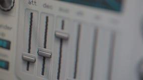 Automatyzujący metry cyfrowy syntetyk i faders zbiory