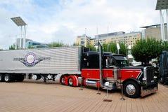 Automechanika 2014 Φρανκφούρτη - έκθεση διεθνούς εμπορίου της Φρανκφούρτης για τη αυτοκινητοβιομηχανία Στοκ Εικόνες