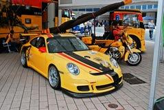 Automechanika fiera di commercio internazionale di Francoforte 2014 - di Francoforte per l'industria automobilistica Fotografia Stock Libera da Diritti