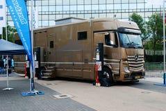 Automechanika 2014 Frankfurt, Frankfurt - handlu międzynarodowego jarmark dla Automobilowego przemysłu Obrazy Royalty Free