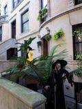 Automn dekoracja z czarownicą Fotografia Stock