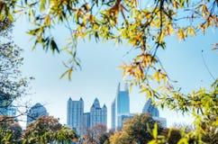 Automne à Atlanta Photographie stock