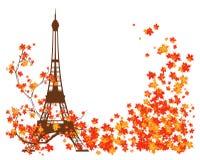 Automne à Paris Photographie stock libre de droits