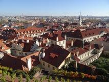 Automne à Prague Images libres de droits