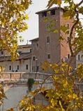 Automne à Rome Photographie stock
