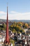 Automne à Zurich Images libres de droits