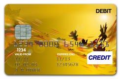 Automne/automne de carte de visa photos stock