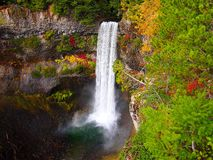 Automne chez Brandy Wine Falls photo libre de droits