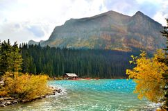 Automne chez Lake Louise Images stock