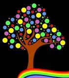 Automne coloré Images libres de droits