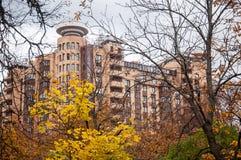 Automne d'or dans Zhukovsky, région de Moscou, Russie, l'Europe photos stock