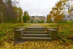 Automne d'or Tampere, Finlande images stock