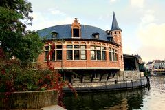 Automne dans Gand Photo libre de droits