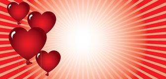 Automne dans l'amour Image libre de droits