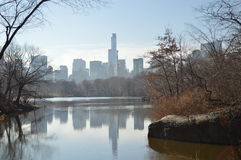 Automne dans le Central Park New York City Images libres de droits