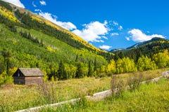 Automne dans le Colorado Photos stock