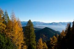 Automne dans les montagnes photos libres de droits