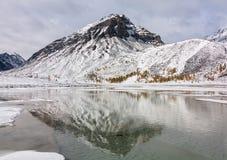 Automne dans les montagnes Photo stock