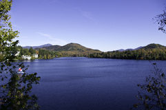 Automne dans les montagnes d'Adirondack Photos stock