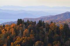 Automne dans les montagnes fumeuses Photos libres de droits