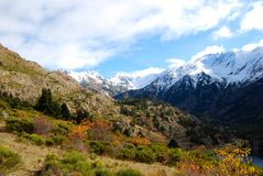 Automne dans les Pyrénées Photographie stock libre de droits