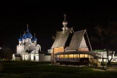 Automne dans Suzdal photo stock