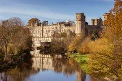 Automne de château de Warwick Photo libre de droits