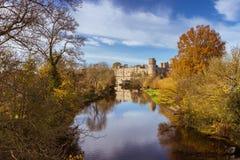 Automne de château de Warwick Images stock