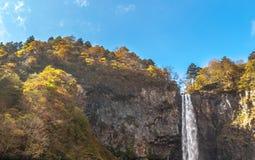 Automne de Kegon, Japon Photos stock