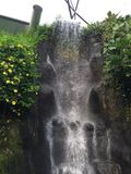 Automne de l'eau Photographie stock libre de droits