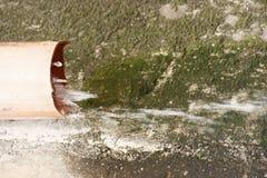 Automne de l'eau Image stock