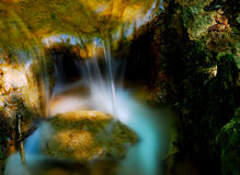 Automne de l'eau images stock