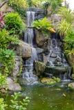 Automne de l'eau dans le jardin Photographie stock libre de droits