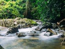 Automne de l'eau en Thaïlande Photographie stock libre de droits
