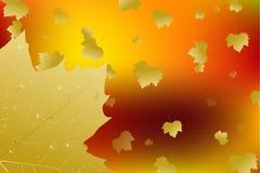 Automne de lame d'automne Vecteur illustration libre de droits