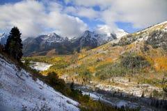 Automne de montagne rocheuse image libre de droits