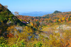 Automne de Mt Hachimantai Photographie stock